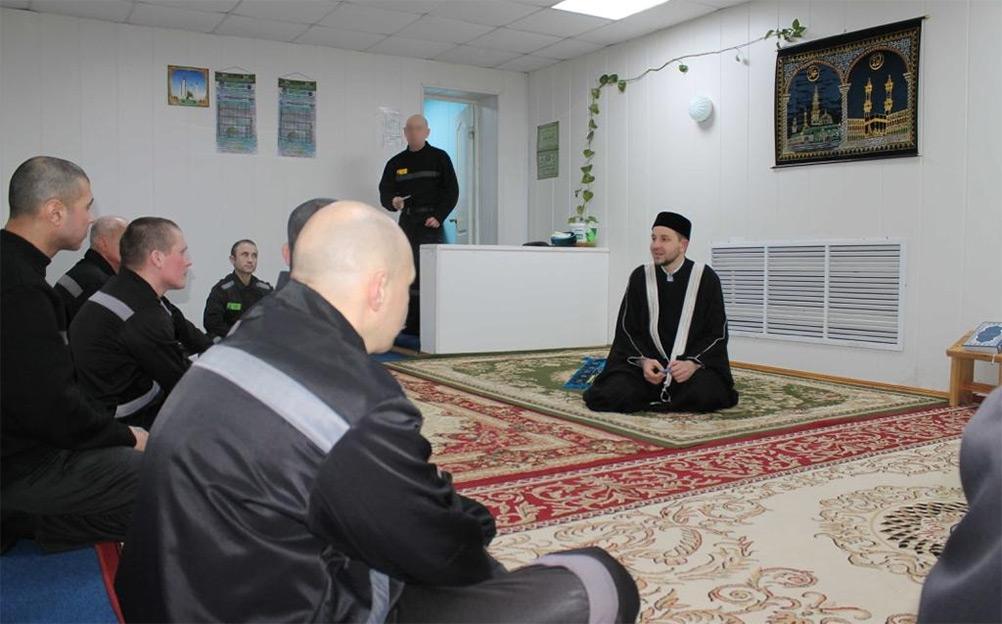 Азат-хазрат Мунавиров посетил ИК №3 г. Владимира